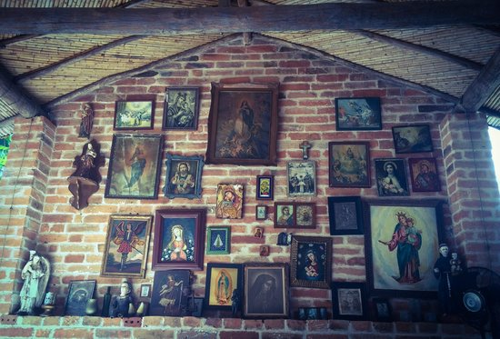 Cauca Viejo Hotel Boutique Parasiempre: Mural en la Sala