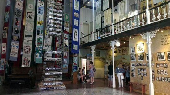 District Six Museum: Main hall