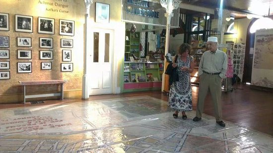 District Six Museum : Large map of the District on the floor