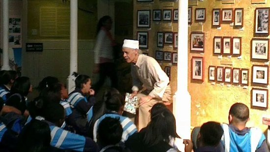 District Six Museum : Guided tour for a group of school children