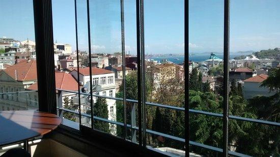 Tomtom Suites : Vue de la terrasse