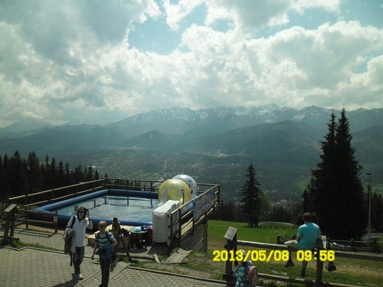 Gubalowka: Atrakcje na górze