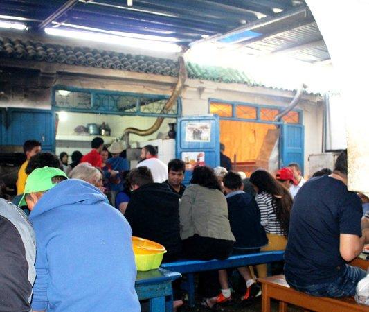 Essaouira Fish Market : The Restaurant at the Fish Market