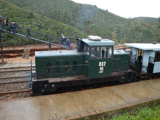 Museo Minero Río Tinto y Tren Minero: Tren.