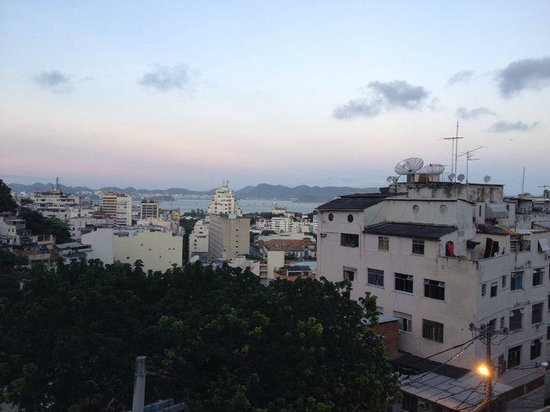 Santa Mix Hostel: Vista do terraço