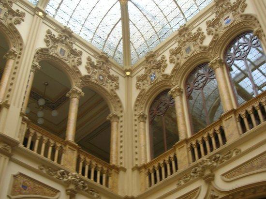Palacio Postal: balcón