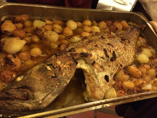 Restaurante Sancho : Garopa no Forno