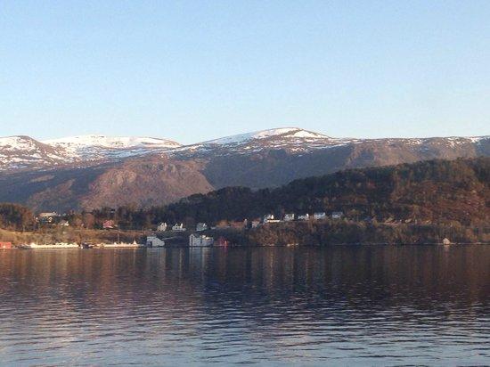 Quality Hotel Waterfront Alesund: vista desde hab. 214