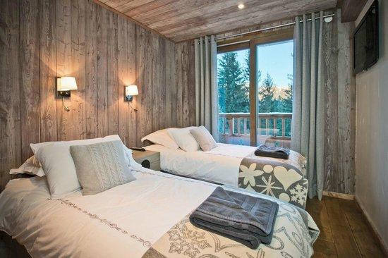 Alpine Escape : Chalet Belvedere bedroom