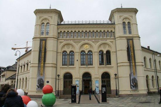 The Nobel Peace Center: faixada
