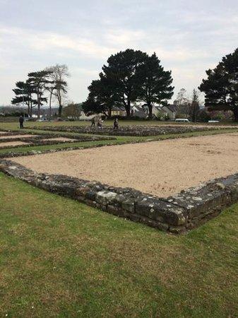 Segontium Roman Fort: easter egg hunt