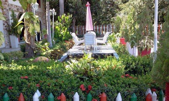 Club Hotel Campestre La Guajira: Jardin hotel guajira
