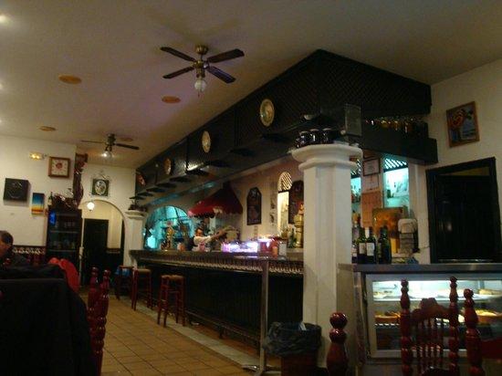 El Manzano: Interior.