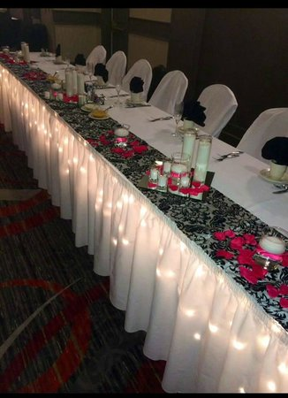 Holiday Inn Harrisburg/Hershey: Head Table