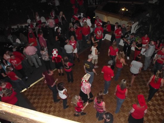 Millennium Buffalo: Overlooking the dance party with Mark of the West