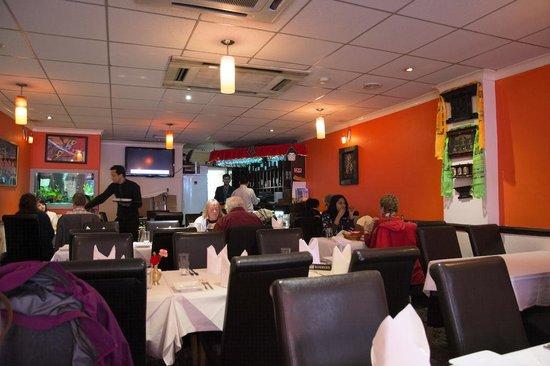 Diwali Indian & Nepalese Restaurant: Restaurant