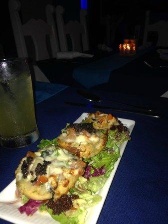 The Blue Lobster: Lobster Bruschetta