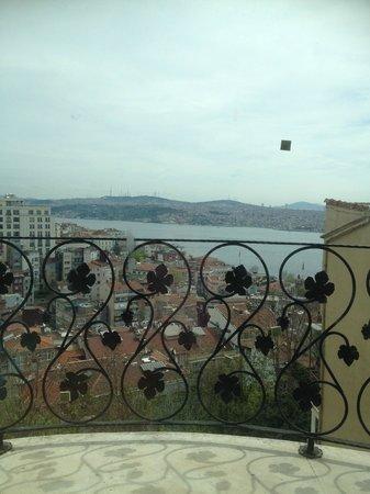 Suitel Bosphorus: The Bosphorus view from room 402