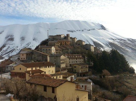 Monte Veletta: visuale dalla camera