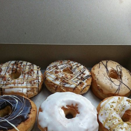 Photo of American Restaurant Von Doughnuts at 713 Danforth Ave, Toronto M4J 1L2, Canada