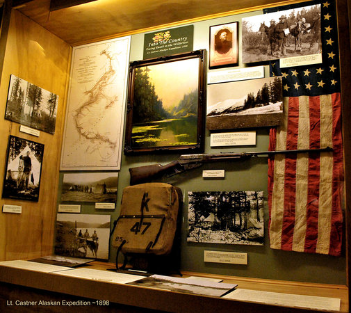 Prince William Sound Museum: early US Army Expeditions
