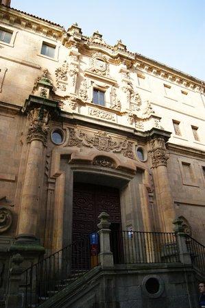 Scala Coeli Torres de la Clerecia : fachada Barroca