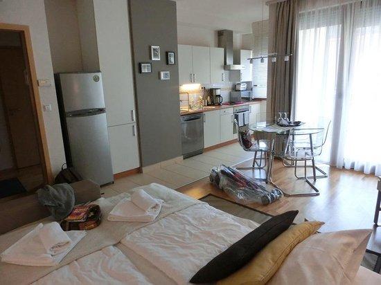 7Seasons Apartments Budapest: cuisine salon