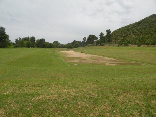 Le site archéologique d'Olympie (Archaia Olympia) : The Stadium