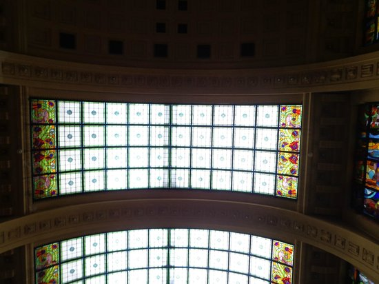 Gellert Spa : ceiling decor
