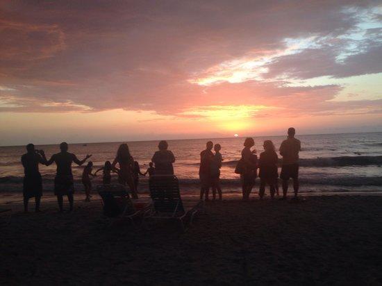 White Sands Negril: Sunset