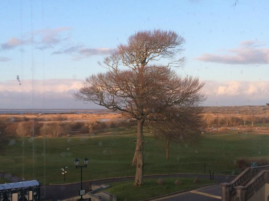 Glenlo Abbey Hotel: The view from our room