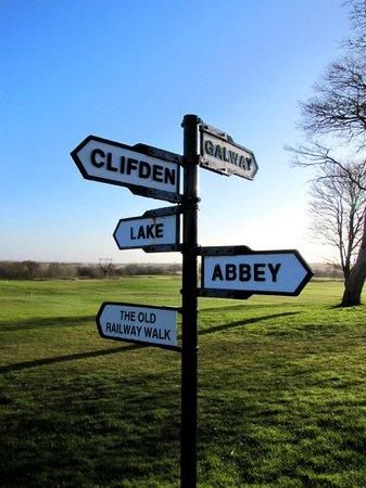 Glenlo Abbey Hotel: Taken on a walk around the grounds
