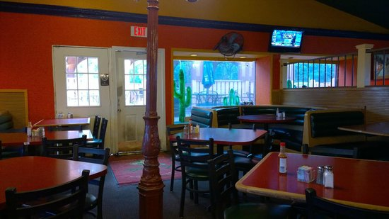 Vallarta Mexican Restaurant Dining Area
