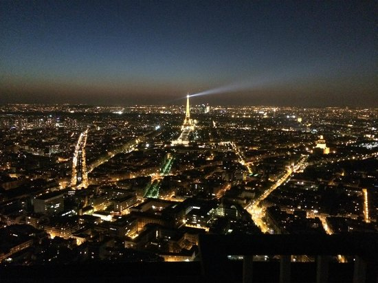 vista panoramica da cidade de paris picture of le ciel de paris paris tripadvisor. Black Bedroom Furniture Sets. Home Design Ideas
