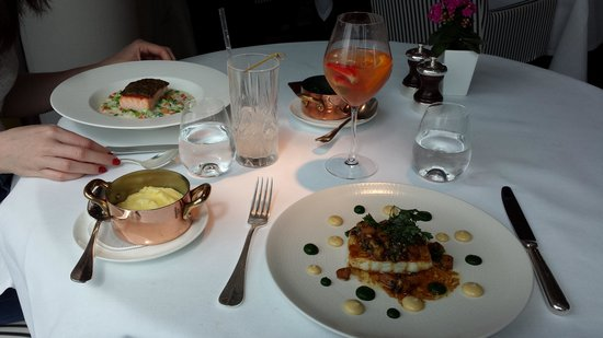 South Place Hotel: Angler restaurant now with a michelin star