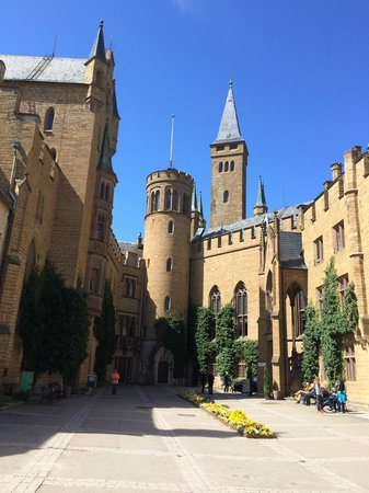 Castle of Hohenzollern : Castle Square