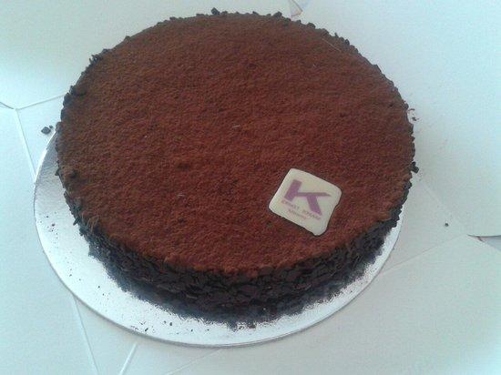 Pasticceria Ernst Knam: mousse al cioccolato (africana)