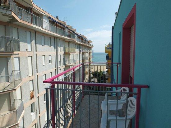 Hotel Gardenia: vista dal balcone