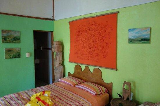 Cabañas Koro Nui: room