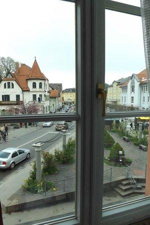 Hotel Hirsch : Vista dalla camera