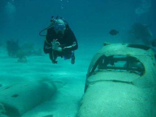 Stuart Cove's Dive Bahamas : Nari Nari Plane Wreck