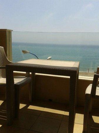 Vegasol-playa: Terraza y vistas