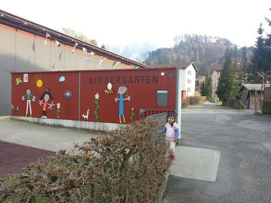 Swiss Inn Hotel & Apartments: Kindergarten near Hotel.