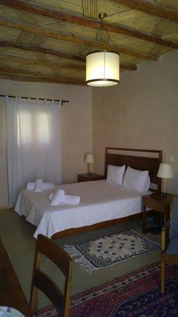 CôtéSud : une des chambres très cosi confortable