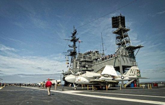 Musée de l'USS Midway : Midway Flight Deck