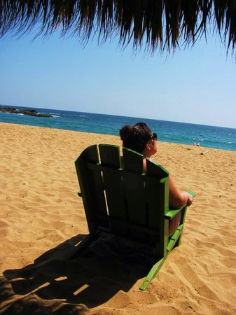Posada Mazuntinas: Beach near Mazunte