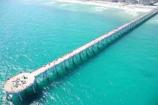 Navarre, FL: Longest Pier into the Gulf of Mexico
