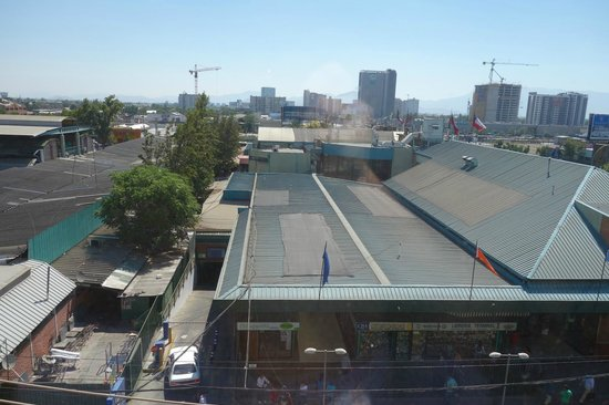 Ibis Santiago Estacion Central : view outside