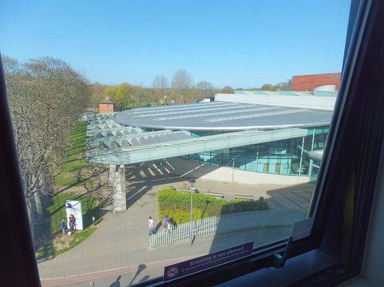 Premier Inn Durham City Centre : View from room