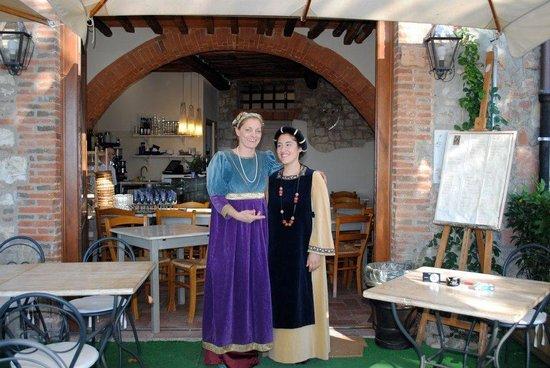 Le Forchette del Chianti: In costume per una festa del paese